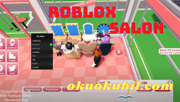 Roblox My Salon Scrıpt Farm, Hızlı Para Script Hilesi Mayıs 2021