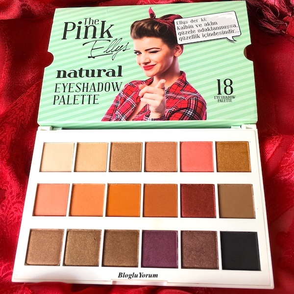 the pink ellys natural eyeshadow palette incelemesi 1