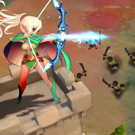 Knight War: Idle Defense - VER. 1.6.1 (Damage x10 - Unlimited Money) MOD APK