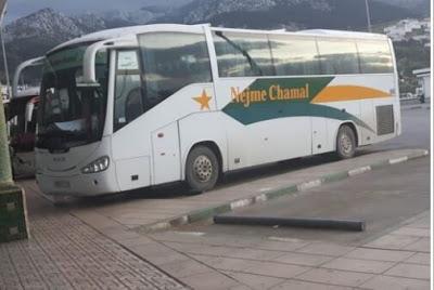 نجاة ركاب من موت محقق بعد وفاة سائق حافلة ممتلئة بالمسافرين بسكتة قلبية ..+صورة