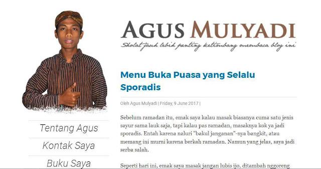 Agusmulyadi.web.id - Blog Pribadi Terbaik Di Indonesia