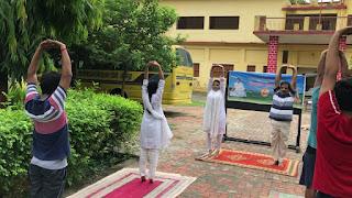 #YogaDay : योग हमारे जीवन का आधार है : डॉ. सरिता सिंह | #NayaSabera