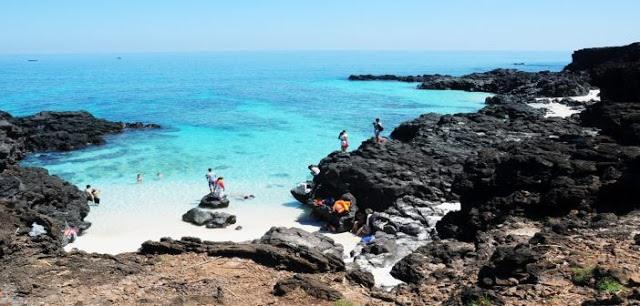Hoạt động du lịch biển trên huyện đảo Lý Sơn - Quảng Ngãi 4
