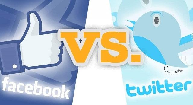 facebook or twitter best social media platform for business fb vs tweet