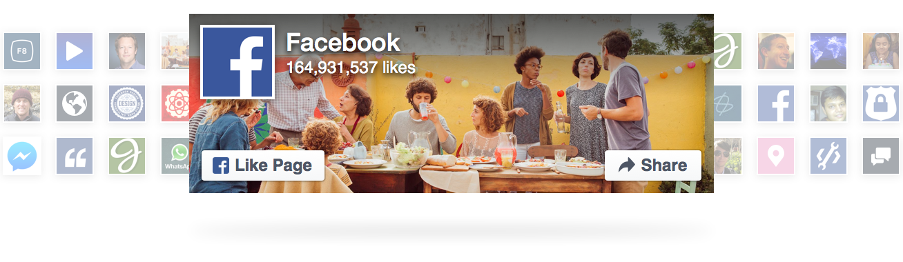 Facebook Like Widget Responsive - Germy Load