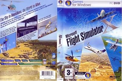 Jogo Microsoft Flight Simulator X PC DVD Capa