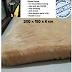 Karpet bulu 200 X 150 CM TEBAL6 CM  Karpet lantai karpet RASFUR Anti Slip bintik