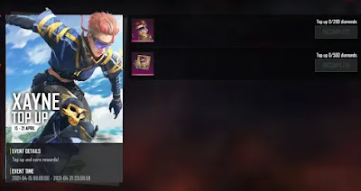 Free Fire Xayne Character Redeem Code For Free