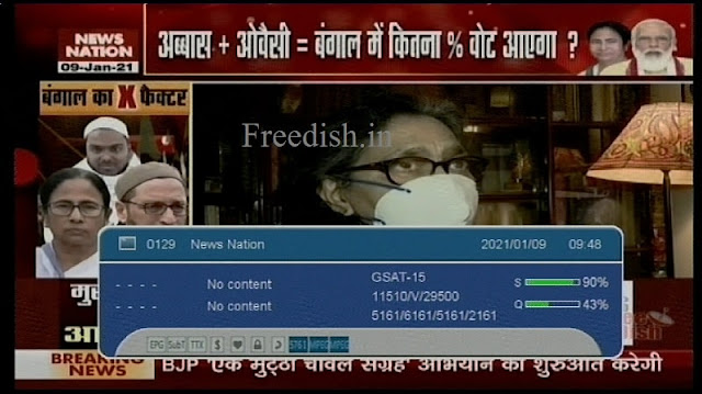 News Nation Hindi News Channel available on Channel No. 65, Know Frequency, Channel Number and Owner and Anchor