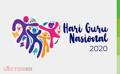 Hari Guru Nasional (HGN) 2020 Kemdikbud Logo - Download Vector File CDR (CorelDraw)