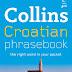Collins Croatian Phrasebook - Sách học tiếng Croatia cơ bản