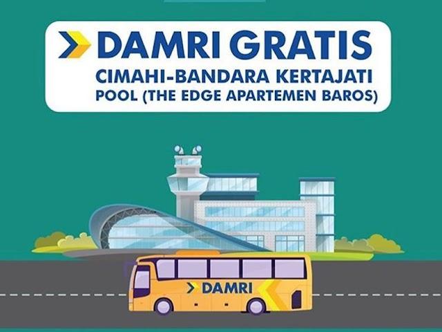 Masih Gratis, Ini Jadwal Bus DAMRI dari Cimahi ke Bandara Kertajati
