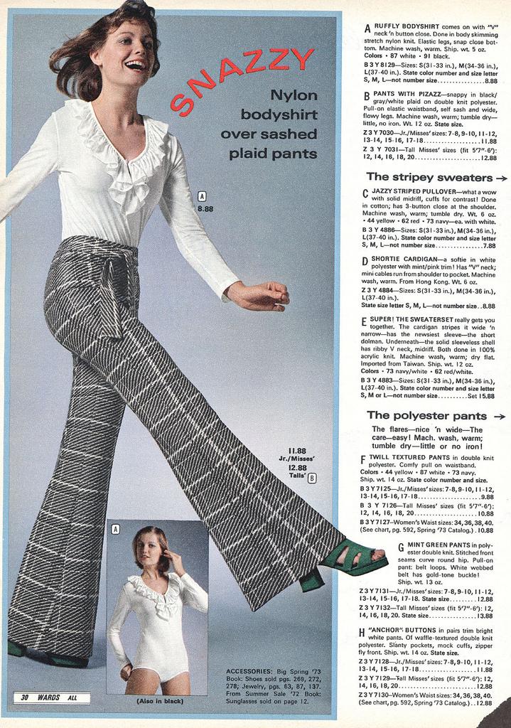 Chick Slacks Of 70s Style Vintage Everyday