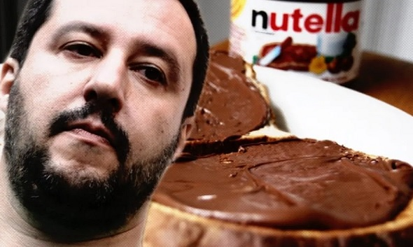 Former Italian Minister Salvini gives up Nutella because contains Turkish hazelnuts