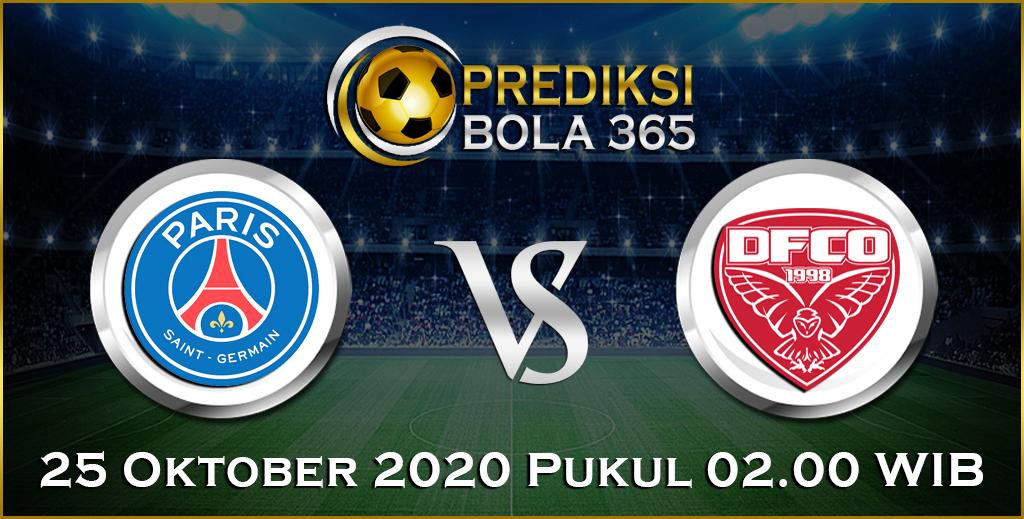 Prediksi PSG vs Dijon 25 Oktober 2020