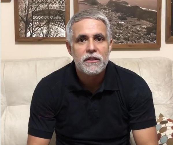 Pastor Claudio Duarte está com Covid-19
