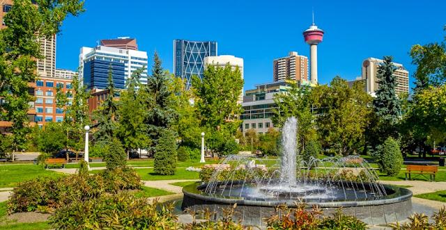 Verão em Calgary
