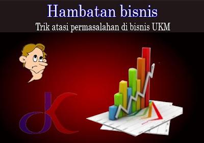 Hambatan bisnis | Trik atasi permasalahan di bisnis UKM