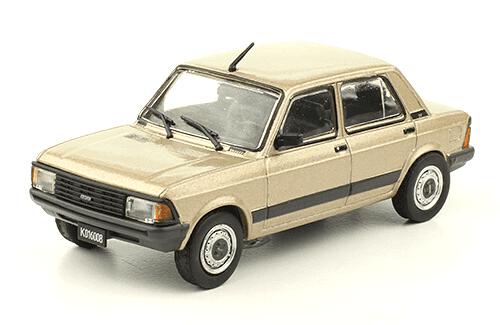 Fiat Super Europa 1.5 1983 1:43, autos inolvidables argentinos 80 90