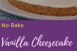 No-Bake Vanilla Cheesecake