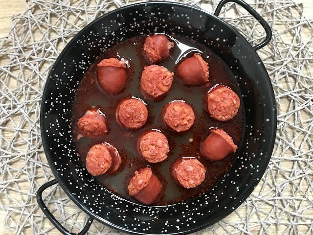 CHORIZO A LA SIDRA EN EL MICROONDAS ¡Receta Deliciosa en 5 minutos!