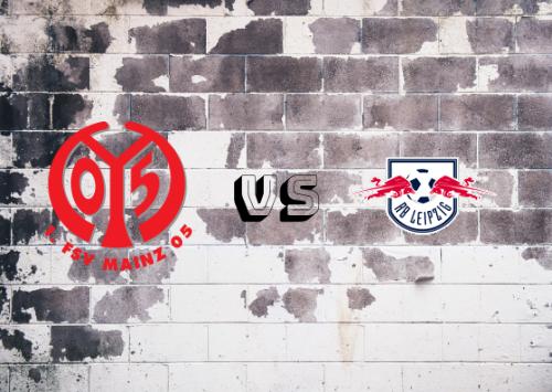 Mainz 05 vs RB Leipzig  Resumen