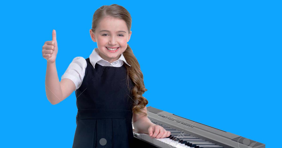 cho bé học đàn organ ở đâu