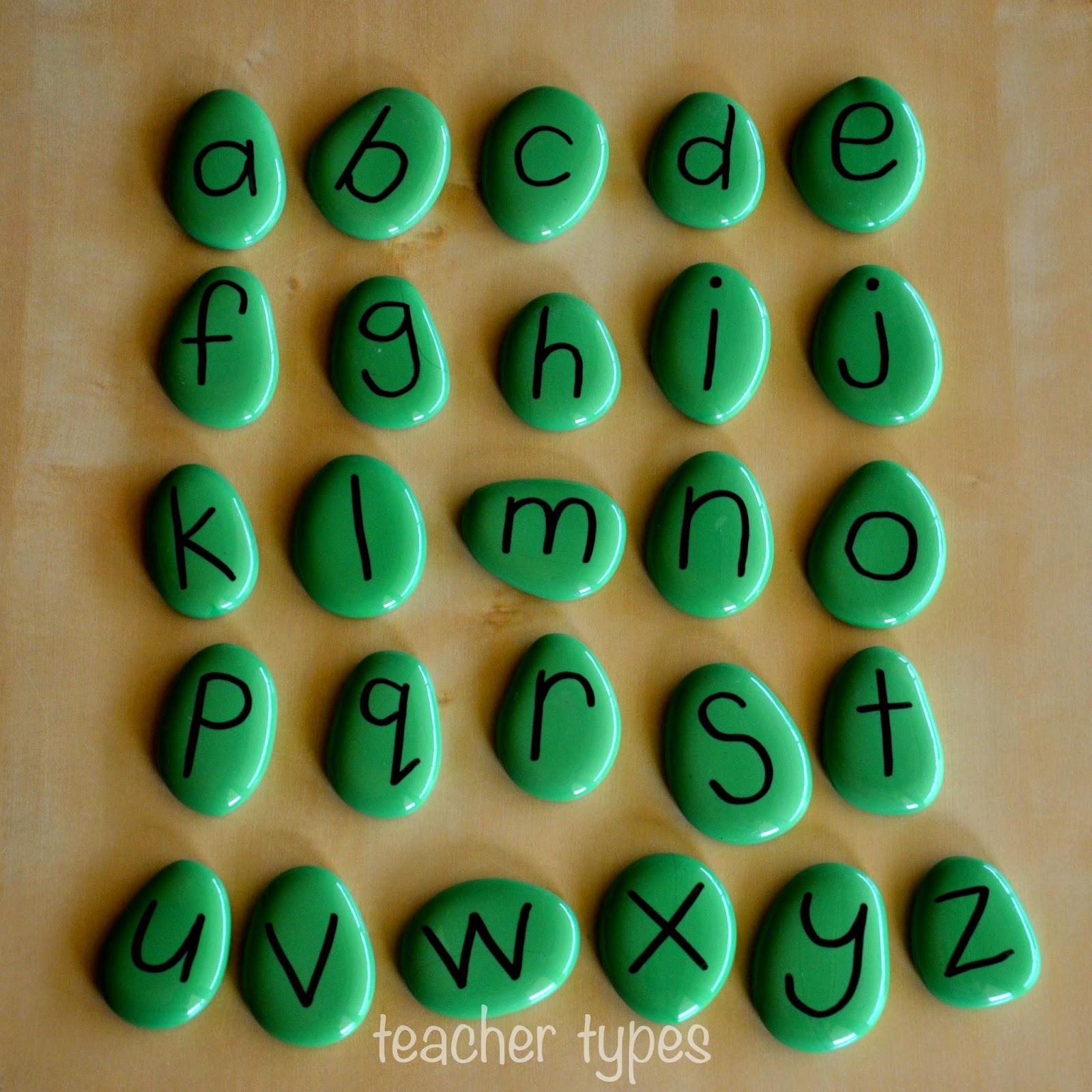 Alphabet Pebbles | Wonderful Word Building - Teacher Types