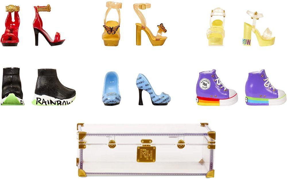 Обувь для кукол Rainbow High Deluxe Fashion Closet