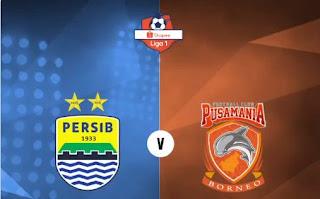 Susunan Pemain Persib Bandung vs Borneo FC