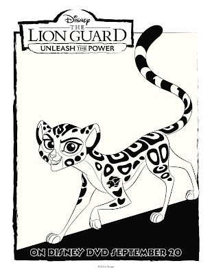 The Lion Guard Coloring Sheet Fuli