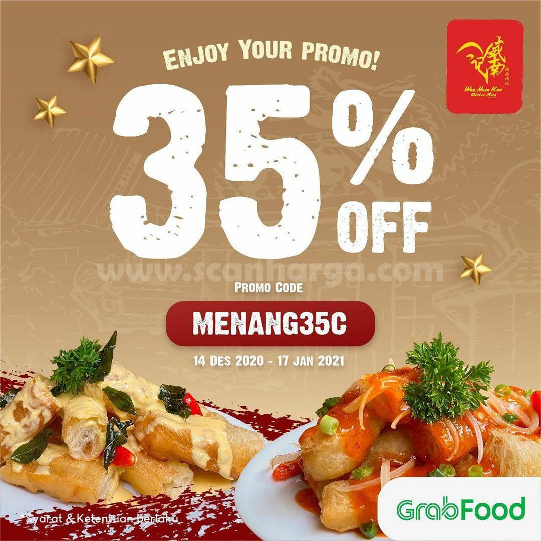 Wee Nam Kee Promo Diskon 30% khusus Pesan via Grabfood