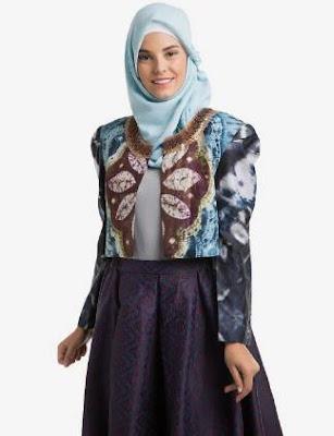 baju batik muslim masa kini
