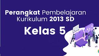 Download RPP 1 Lembar K13 Revisi 2020 Kelas 5 Semester 1