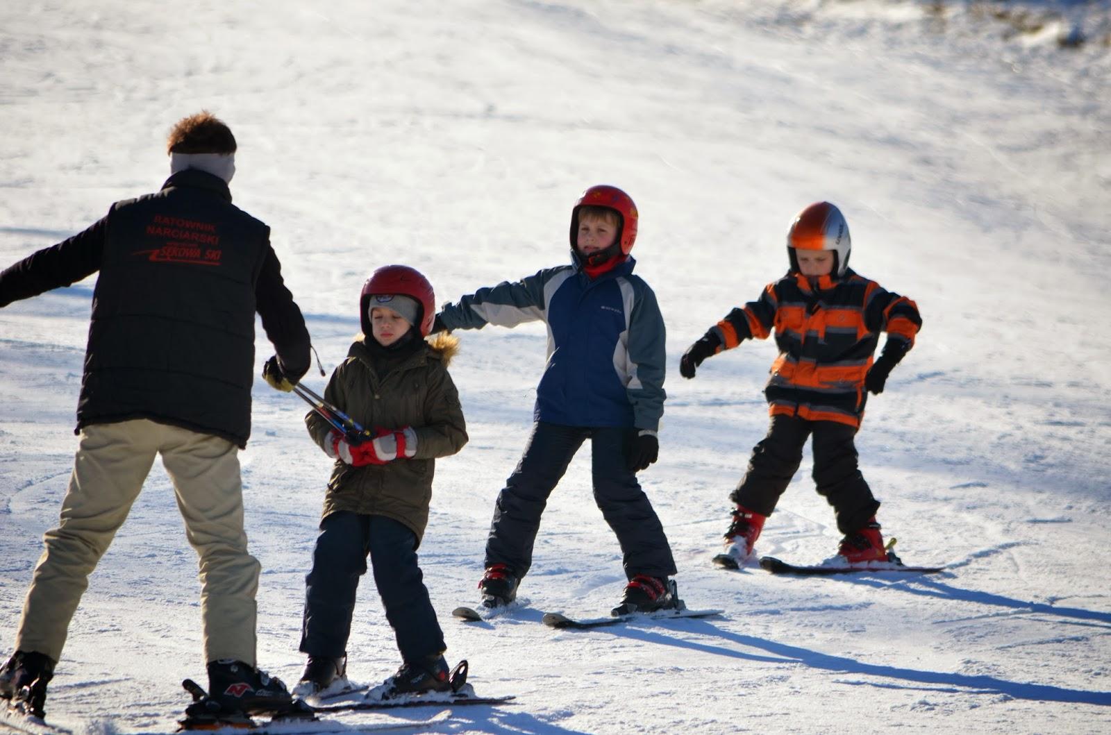 gdzie na ferie z dzieckiem, góry, zima, jazda na nartach, nauka jazdy na nartach, ferie