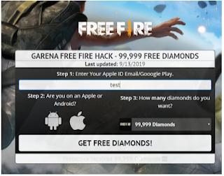 Gethacks. net/garena || Website Generator Untuk mendapatkan diamond gratis Free fire