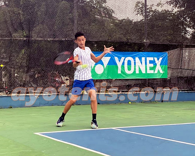 Bakal Jajal Persaingan Tenis Pro, Ini Target Ingvar Rusli