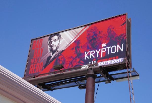 Krypton season 2 billboard