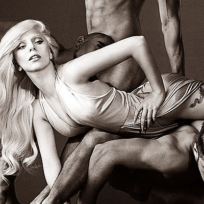 Lady Gaga in advertising Eau de Gaga
