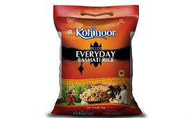 Kohinoor Everyday Basmati Rice 5kg For Rs 325 (Mrp 490) at Amazon Pantry deal by rainingdeal.in