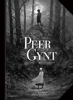 """couverture de """"PEER GYNT ACTE I"""" par Antoine Carrion d'après Ibsen chez Soleil"""