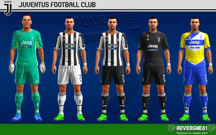 Kits Juventus 2021-2022 For PES 2013
