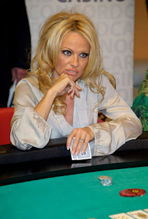 Pamela Anderson Poker