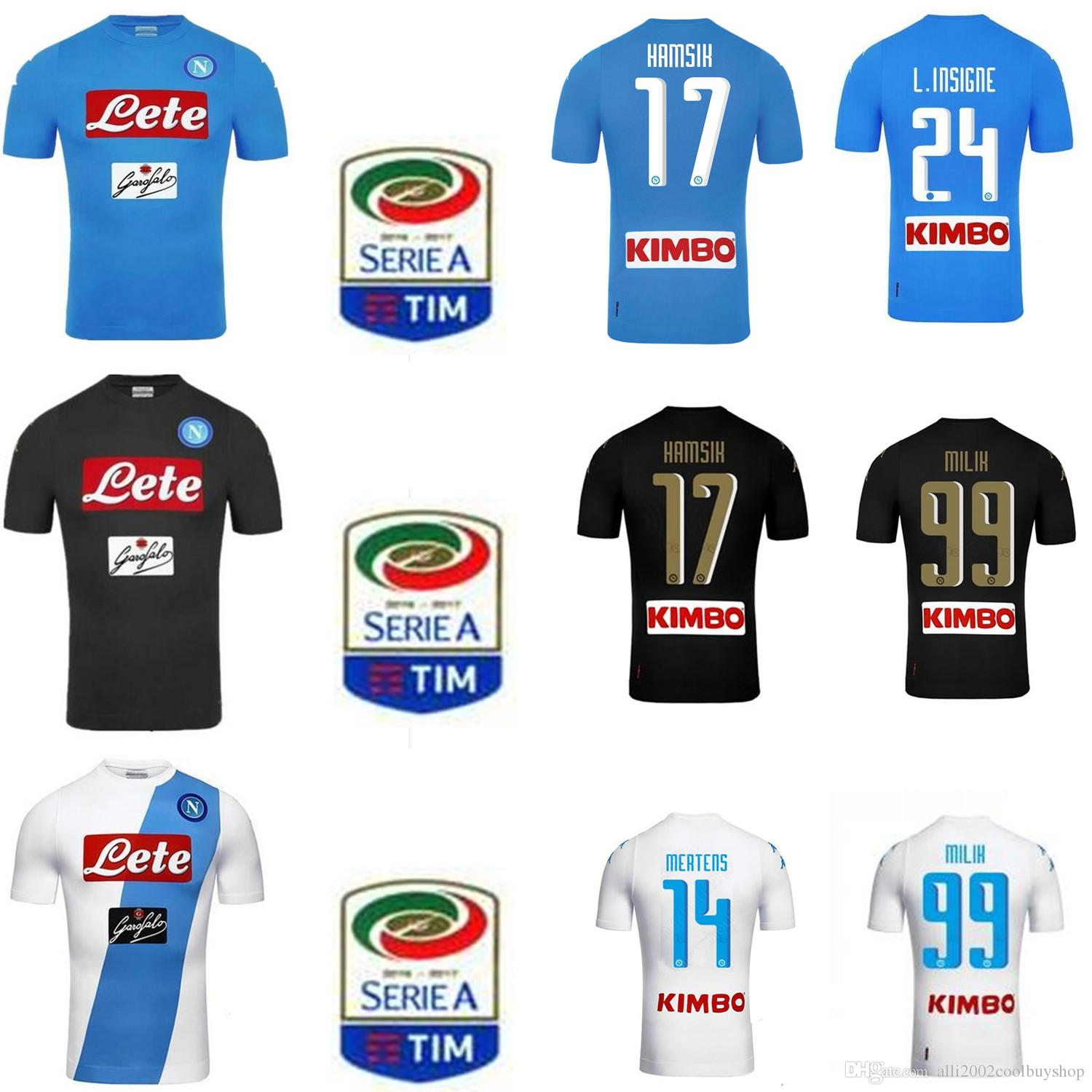 ensemble de foot Napoli Enfant