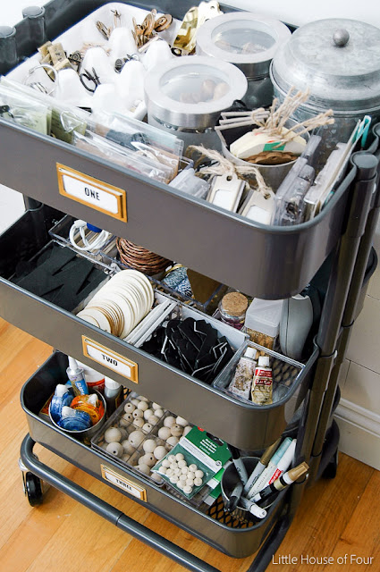 IKEA Raskog-the perfect mobile storage cart