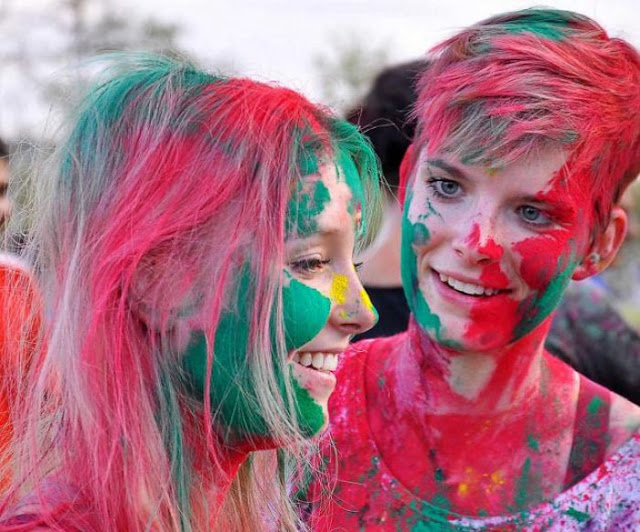 Happy Holi Images For Girlfriend-Download HD Images For Free