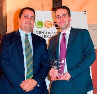 """H ΟΛΠ Α.Ε. τιμήθηκε με το Ειδικό Βραβείο στην κατηγορία """"Περιβάλλον""""   κατά το 4th Annual Sustainability Summit 2019"""