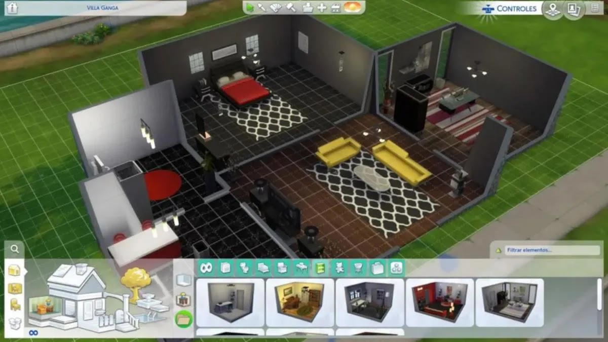 Cheats to build wherever you want and for free in The Sims 4