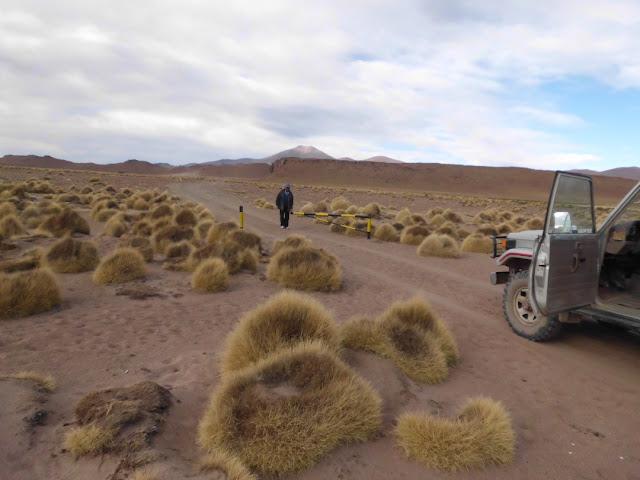 Wir sind über 4 Stunden mit dem Jeep auf teilweise fast unbefahrbaren Pisten unterwegs gewesen. Dazu kamen noch die Hindernisse mit den Schranken wegen des Corona Virus.