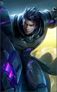 Alucard Obsidian Blade Heroes Fighter Assassin of Skins V1